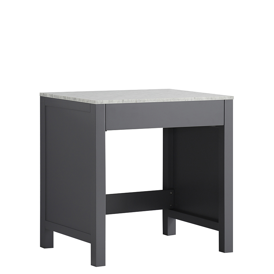 makeup tables with drawer